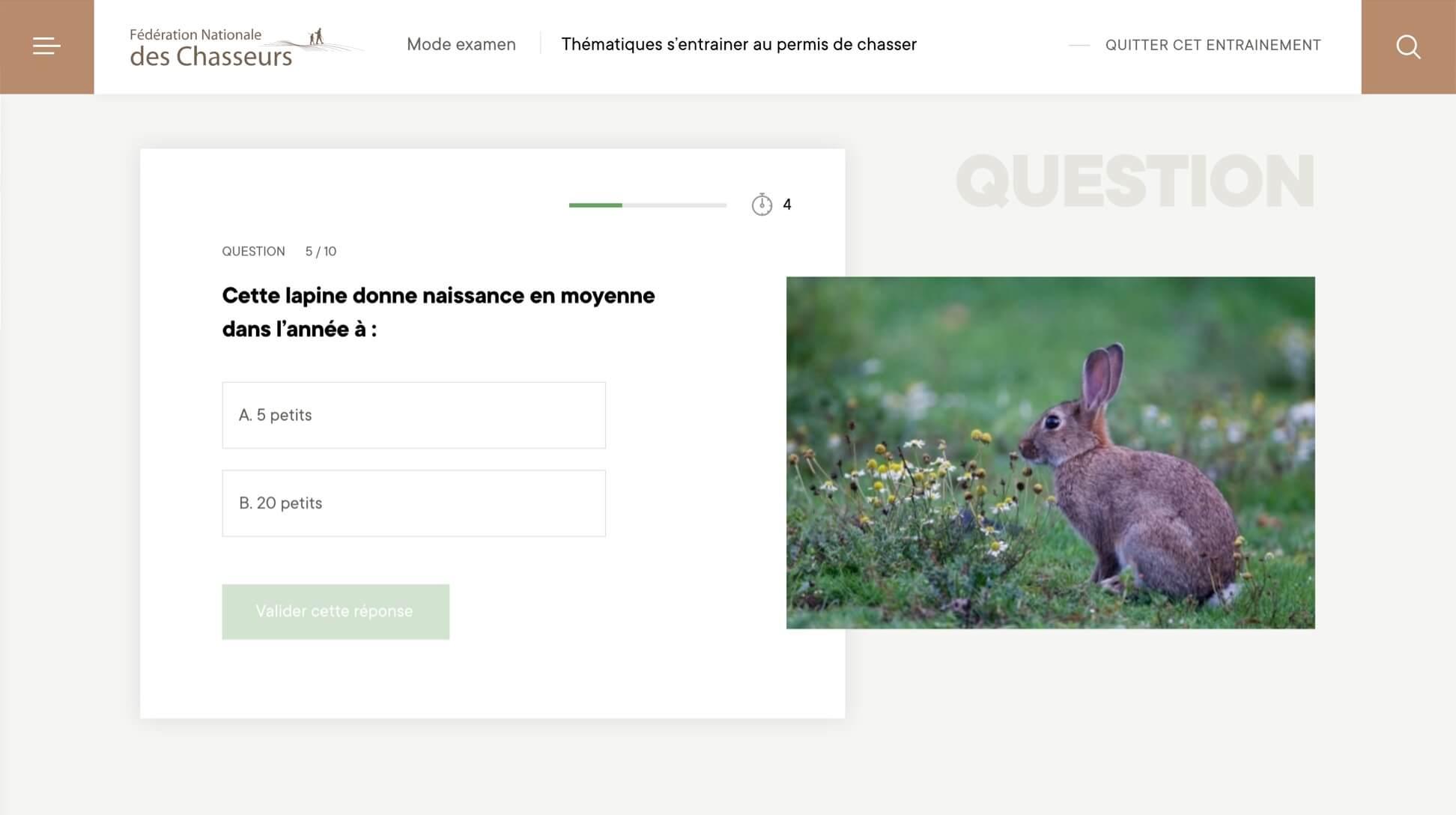 Fédération Nationale des Chasseurs - Agence digitale Bien-Fondé